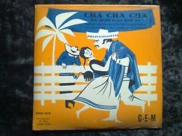 Bob Allan Et Son Orchestre: Cha Cha Cha/ 45T GEM EGEX 4510 - Klassik