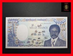 GABON 1.000 Francs  1.1.1990  P. 10 A  UNC - Gabun