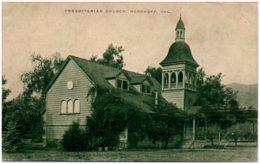 CA Presbyterian Church, NORDHOFF - Etats-Unis