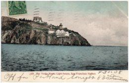 CA The Yerba Buena Light-house, SAN FRANCISCO - San Francisco