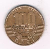 100 COLONES 1995 COSTA RICA /1580/ - Costa Rica