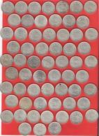 Gros Lot De 62 Pièces 5 Francs Argent Semeuse 750 Gr. - France