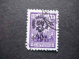 Lietuva Litauen Lituanie Litouwen Lithuania # 1924 Used # Mi.227y - Lituanie