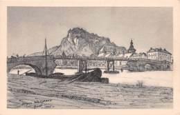 Givet Et Le Fort De Charlemont D'apres Un Dessin De J Weismann 2(scan Recto-verso) MA171 - Givet