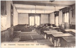 FR FRIBOURG - Pensionnat Jeanne D'Arc - Salle D'étude - FR Fribourg