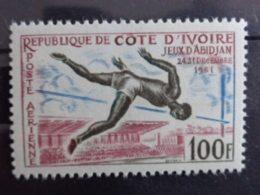 COTE D'IVOIRE 1961 P.A. Y&T N° 21 ** - JEUX D'ABIDJAN - Côte D'Ivoire (1960-...)