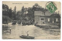 Saint MESMIN 1914 MOULIN Aube Près Méry Sur Seine Fontaine Les Grès Payns St Lyé Barberey Troyes En Champagne - France