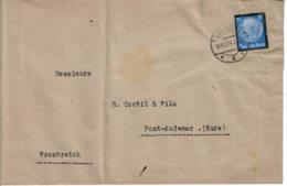 1934 - Lettre De HAMBOURG Pour La France  - Tp Yvert N° 508 (Michel N° 553) Enveloppe Pliée - Allemagne