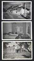 3 Postais Fotográficos ALVÃO Porto: TERMAS DE MONFORTINHO Hotel + Quarto + Capela PORTUGAL - Castelo Branco