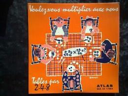 Danno: Voulez-vous Multiplier Avec Nous, Tables Par 2-4-8/ 33t Atlas SCA 33 17004 - Vinyl Records