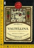 Etichetta Vino Liquore Grumello 1973 Bianzone-Villa Di Tirano SO - Etichette