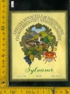 Etichetta Vino Liquore Sylvaner Abbazia Novacella-Bressanone BZ - Etichette