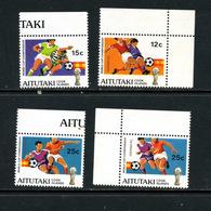 Aitutaki De Y&T 318/25 ** Série Incomplète Football - Aitutaki