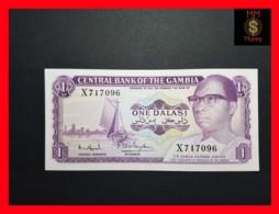 GAMBIA 1 Dalasi  1972 P. 4 F  UNC - - Gambia