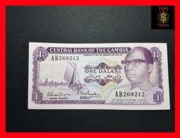 GAMBIA 1 Dalasi  1972 P. 4 G  UNC - Gambia