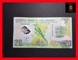 GAMBIA 20 Dalaso 2014  P. 30 *COMMEMORATIVE*  UNC  POLYMER - Gambia