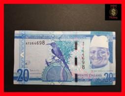 GAMBIA 20 Dalasis 2015  P. 33   UNC - Gambia