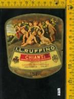 Etichetta Vino Liquore Chianti Ruffino - Pontassieve - Etichette