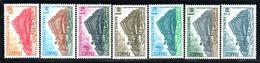 N° 53/55, 58/59, 63/64 - 1977, 8, 80 - Neufs