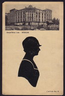 SILHOUETTE Artista BAJ B. - VENEZIA Grand Hotel Lido OLD POSTCARD (see Sales Conditions) - Silhouettes