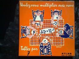 Danno: Voulez-vous Multiplier Avec Nous, Tables Par 7/ 33t Atlas SCA 33 17007 - Other - French Music