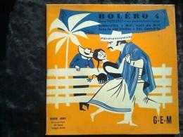 Deno Destero Et Son Grand Orchestre Typique: Boléro 4/ 45t GEM Egex 4589 - Other - French Music