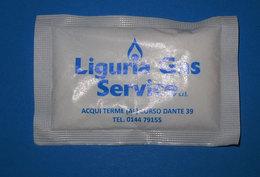 LIGURIA GAS SERVICE  BUSTINA DI ZUCCHERO  PIENA - Zucchero (bustine)