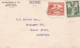 PAIRAUDEAU & CO. ENVELOPE CIRCULE BRITISH GUIANA A BUENOS AIRES YEAR 1935 VIA AIRMAIL, AUTRE MARQUE-RARE - BLEUP - Brighton