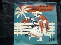 Deno Destero Et Son Grand Orchestre Typique: Boléro 5/ 45t GEM Egex 4592 - Other - French Music