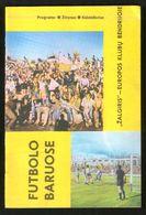 Official Football Programme Zalgiris (Vilnius, Lithuania) - Austria (Vienna, Austria) 1988 (calcio, Soccer) - Programs
