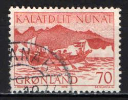 GROENLANDIA - 1972 - I TRASPORTI POSTALI IN GROENLANDIA: TRASPORTO SU BATTELLO - USATO - Groenlandia