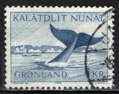GROENLANDIA - 1969 - BALENA - USATO - Groenlandia