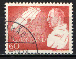 GROENLANDIA - 1969 - 70° GENETLIACO DI FEDERICO IX - USATO - Groenlandia