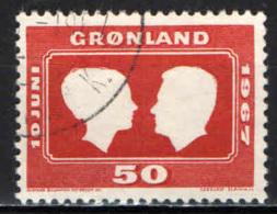 GROENLANDIA - 1967 - NOZZE DELLA PRINCIPESSA MARGARETA - USATO - Groenlandia