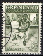 GROENLANDIA - 1961 - BALLERINO GROENLANDESE - USATO - Groenlandia