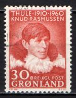 GROENLANDIA - 1960 - KNUD RASMUSSEN - USATO - Usati