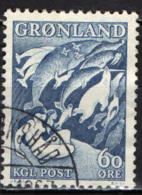 """GROENLANDIA - 1957 - LEGGENDE GROENLANDESI: """"LA MADRE DEL MARE"""" - USATO - Groenlandia"""