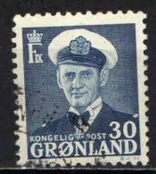 GROENLANDIA - 1953 - RE FEDEREICO IX - USATO - Groenlandia