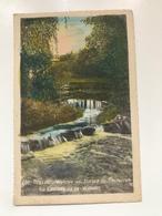 Carte Postale Ancienne (1942) Bruxelles- Woluwe - Avenue De Tervueren La Cascade De La Woluwe - Woluwe-St-Pierre - St-Pieters-Woluwe