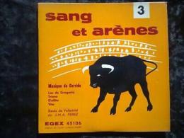 Sang Et Arènes 3 Musique De Corrida: Los De Gregorio.../ 45t GEM Egex 45106 - Other - French Music