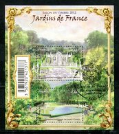 BF - Yvert F 4663 Jardins De France Avec Cachet PJ - Blocs & Feuillets