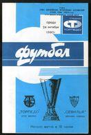 Official Football Programme Torpedo (Moscow, USSR) - Seville (Spain) 1990 (calcio, Soccer) - Programs