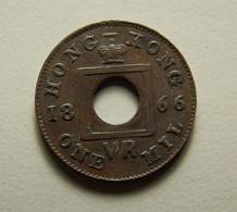 Hong Kong 1 Mil 1866 - Hong Kong