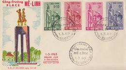Enveloppe  FDC   1er  Jour   VIETNAM    Journée  De  La  Femme  Vietnamienne    1963 - Viêt-Nam