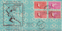 Enveloppe  FDC   1er  Jour   VIETNAM   Sports  Et  Jeunesse  1961 - Viêt-Nam