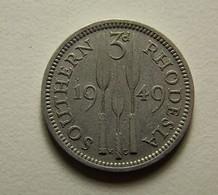 Southern Rhodesia 3 Pence 1949 - Rhodésie