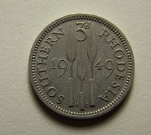 Southern Rhodesia 3 Pence 1949 - Rhodesia