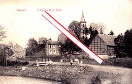 FANZEL - L'Eglise Et Le Pont - Erezée