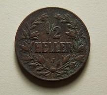 German East Africa 1/2 Heller 1905 J - Afrique De L'Allemagne De L'Est