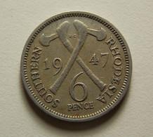 Southern Rhodesia 6 Pence 1947 - Rhodésie